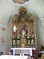 Thierbach, Kath. Pfarrkirche hl. Michael, Altar.JPG