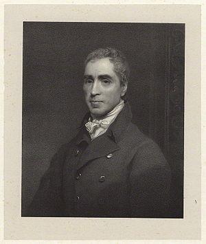 Thomas Murdoch (merchant) - Thomas Murdoch, lithograph about 1816