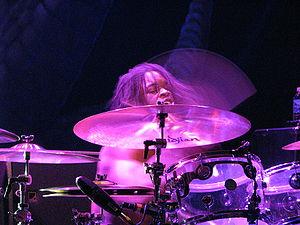 Thomas Pridgen - Thomas Pridgen performing in St. Paul, MN with The Mars Volta in 2008