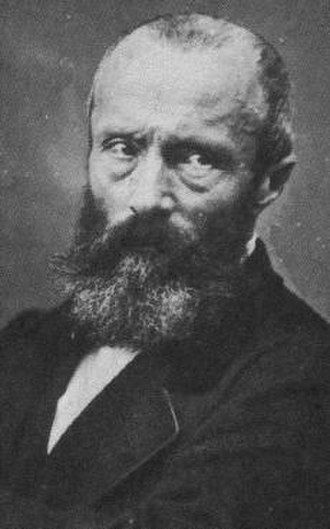 Théophile Thoré-Bürger - Théophile Thoré-Bürger photographed by Nadar (c. 1865)