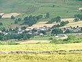 Threkeld Village, East End with Cricket Pavilion - geograph.org.uk - 55879.jpg