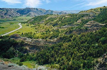 Theodore Roosevelt National Park, North Dakota Thro canyon.jpg