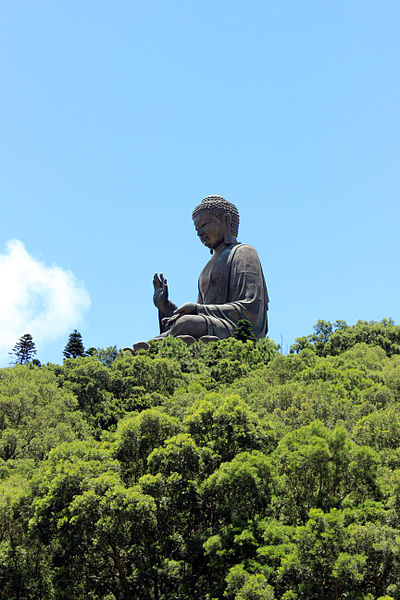 File:Tian Tan Buddha far 2013.JPG