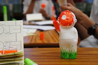 """Zuni Icosahedron - """"Tian Tian Xiang Shang"""" Creativity-For-Community and School Development Programme"""