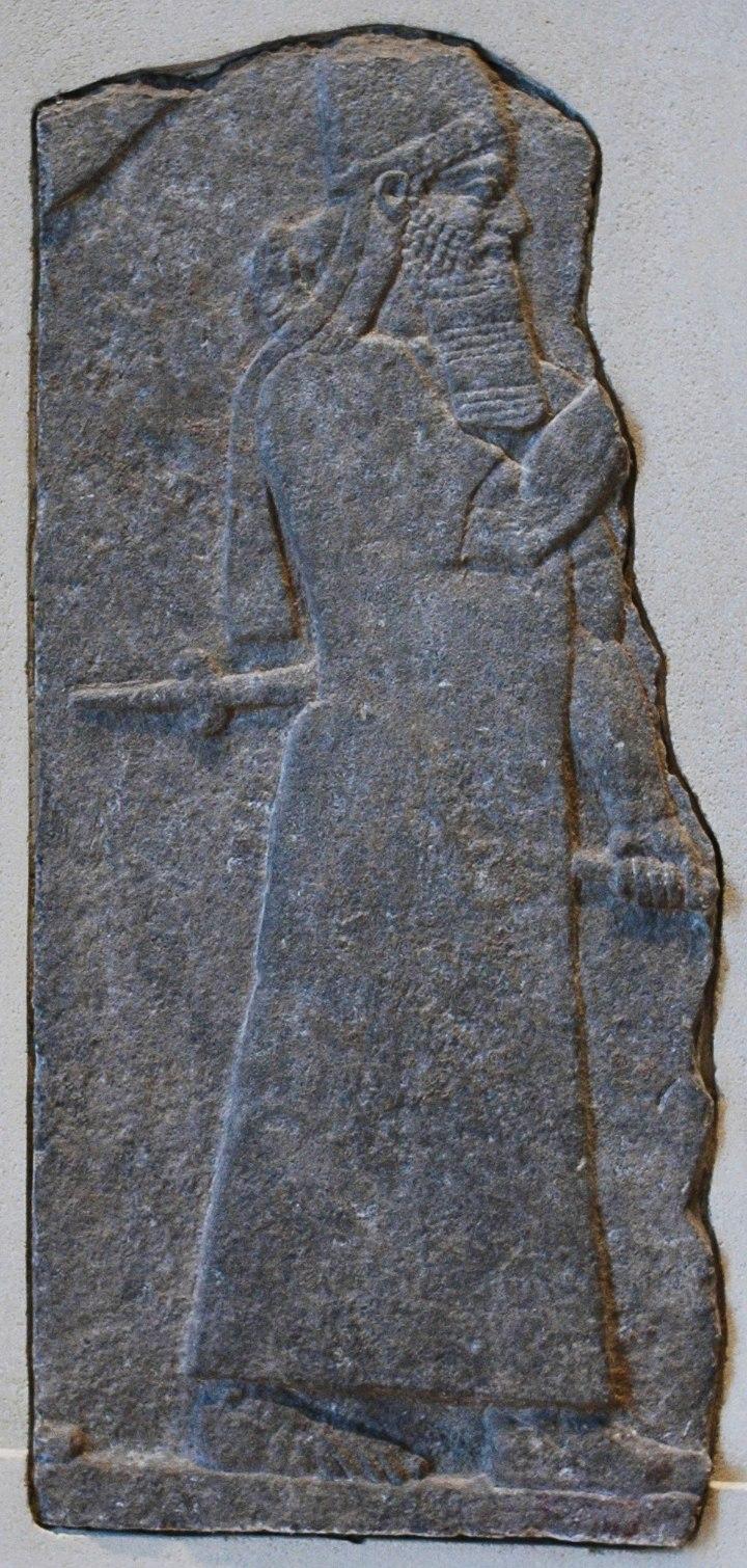 Tiglath-Pileser III Nimrud Louvre AO19853