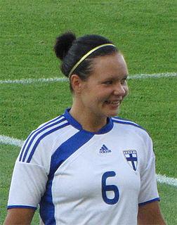 Tiina Salmén Finnish footballer
