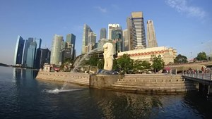 File:Time-lapse video of the Merlion statue, Merlion Park, Singapore - 20160614.webm