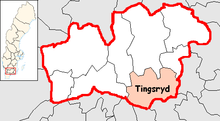 Tingsryd Municipality in Kronoberg County.png