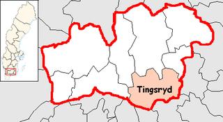 Tingsryd Municipality Municipality in Kronoberg County, Sweden