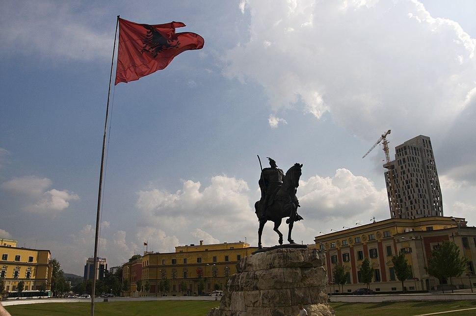 Tirana panorama 2016