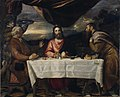 Titian and Studio of Titian - The Supper at Emmaus, c.1545.jpg
