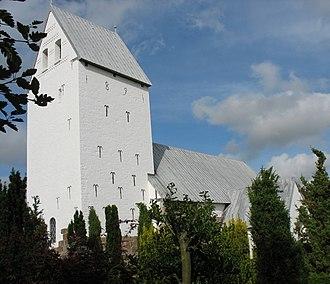 Tjæreborg, Denmark - Tjæreborg church