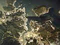 Toba city center area Aerial photograph.1983.jpg