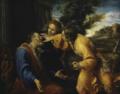 Tobiolo cura la cecità di suo padre Tobia – An. Carracci (cerchia).png