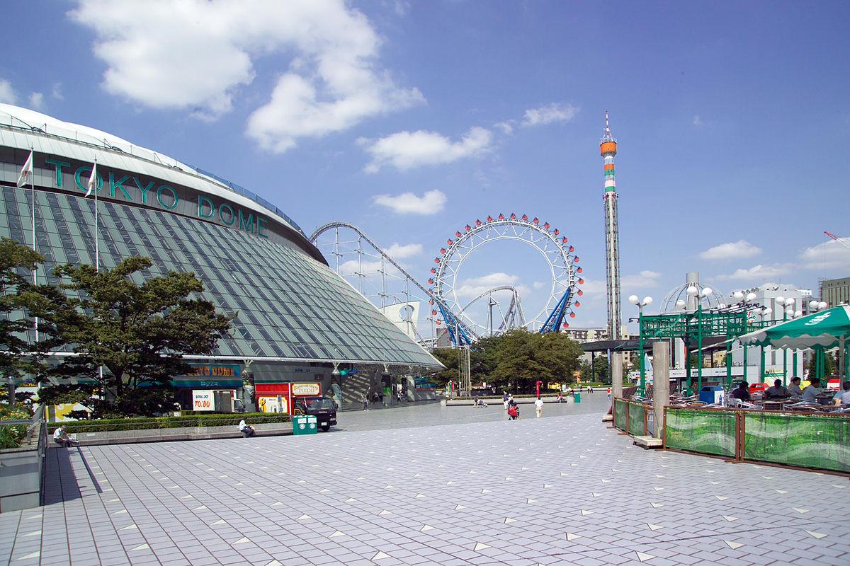 「東京ドームシティ」の画像検索結果