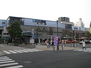Nishi-Kasai Station - Nishi-Kasai Station in February 2008