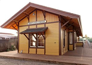 North Hollywood station - Depot after restoration, 2014