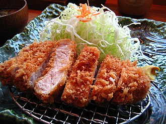 Breaded cutlet - Breaded cutlet dishes are popular around the world. Katsu is the Japanese name for breaded cutlet and tonkatsu refers to pork cutlet.