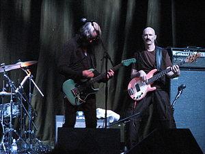 Todd Rundgren - Rundgren, with Tony Levin in Toronto, September 4, 2006.