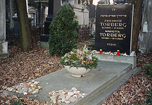 Friedrich Torberg - Torberg's grave at the Zentralfriedhof in Vienna