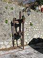 Torchio oleario a vite (Olive oil press) - Gallicianò - Condofuri (Reggio Calabria) - Italy - 17 Jan. 2015 - (3).jpg