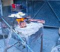 Tortillas savadorenas hechas a mano al carbon en El Salvador.jpg