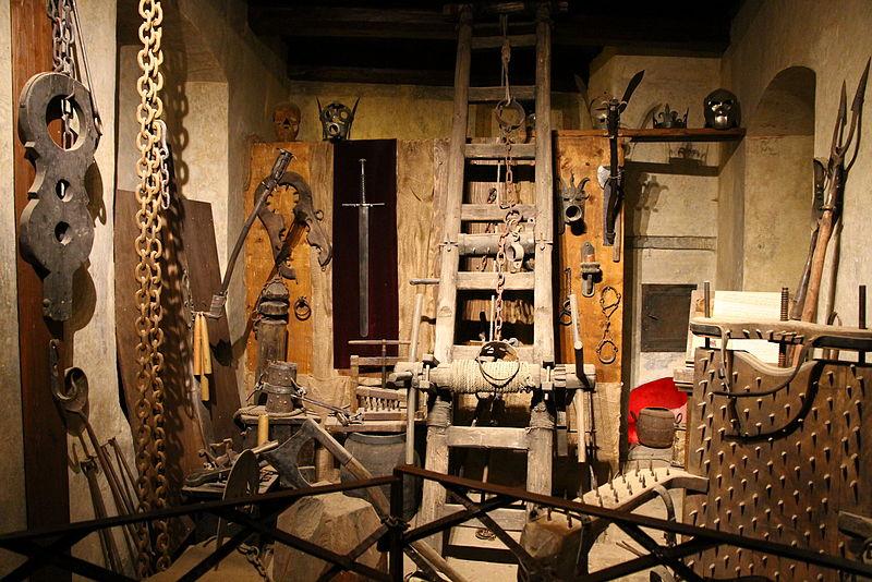 Torture chamber in Prague Castle.JPG