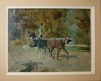 Toulouse-Lautrec - UN DOG-CART, 1880, MTL.17.jpg