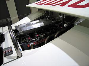 Toyota 7 - Image: Toyota 7 engine