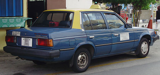 Toyota Corona (CT141) (rear), Sungai Besi
