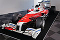 Toyota TF109 (Kamui Kobayashi) front-left 2012 Suzuka Circuit Time Machine Exhibition.jpg