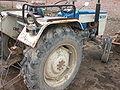 Tractor in Radha-Kund, 2007.jpg