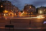 Trafalgar Square in the evening (14767085702).jpg