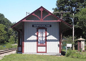 The Station Agent - The train station used in the movie