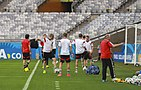 Training Germany national team before the match against Brazil at the FIFA World Cup 2014-07-07.jpg