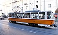 Tram in Sofia near Palace of Justice 2012 PD 061.jpg