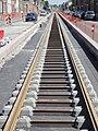 Travaux de la branche vers Vieux-Condé de la ligne B du tramway de Valenciennes en mai 2012 (115).JPG