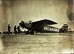 Travel Air 5000 Oklahoma NX911 on ground before ill-fated Dole race (lfq).jpg