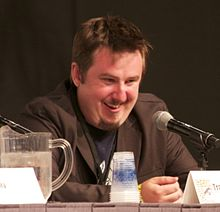 Travis Beacham at SDCC 2011 (5966843603) (cropped).jpg