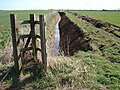 Tributary drain at Grains Gate - geograph.org.uk - 1229061.jpg