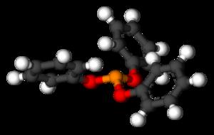 Triphenyl phosphite - Image: Triphenyl Phosphite 3D Ball Stick