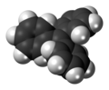 Triphenylmethyl radical spacefill.png