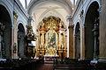 Trnava intérieur église jésuite de la Sainte Trinité.jpg