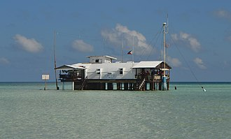 Tubbataha Reef - A remote ranger station in the middle of the Sulu Sea