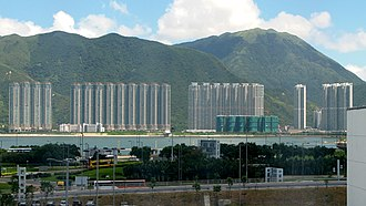 Tung Chung - Tung Chung New Town - Private sector housing: Caribbean Coast, Coastal Skyline, Seaview Crescent
