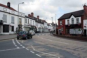 Tuxford - Image: Tuxford High Street geograph.org.uk 1372339
