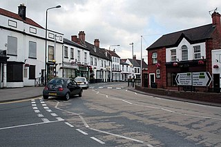 Tuxford village and civil parish in Nottinghamshire, UK