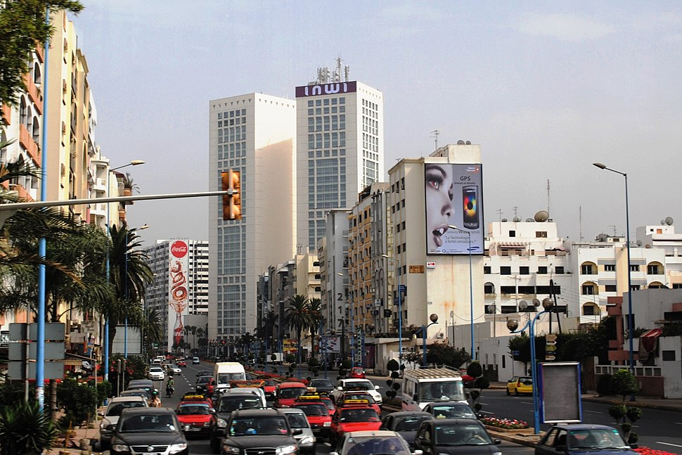 Twin Center, Boulevard Mohamed Zerktouni, Casablanca