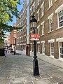 Two lamp posts, Oriel Place, Hampstead, June 2021.jpg