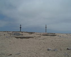 Two stone crosses on Cape Cross.jpg